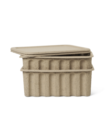 FERM LIVING Paper Pulp Box -Large - Set of 2