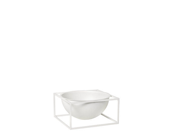 by LASSEN - Kubus Bowl center piece small white