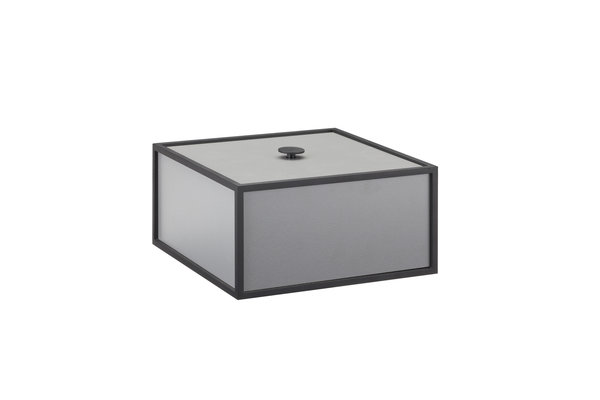 by LASSEN - FRAME BOX  20 cm light grey