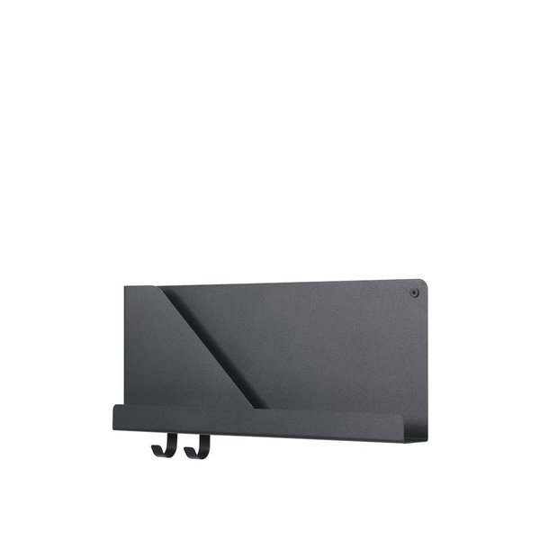 MUUTO folded shelves small black