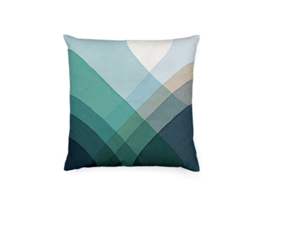 VITRA Herringbone Pillow 2019 blau